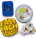 Enamel Badges- Click to enlarge