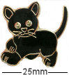 Black Kitten 2 Badge