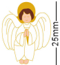 Little Guardian Angel Badge