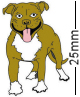 Staffordshire Bull Terrier, Staffy Dog Badge
